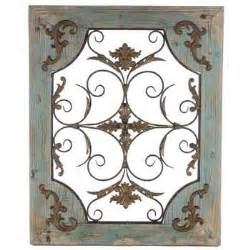 rustic turquoise wood metal wall decor hobby lobby