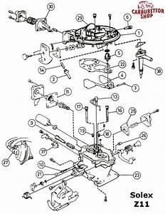 13  Pump Jet For Solex Z11 Carburetors