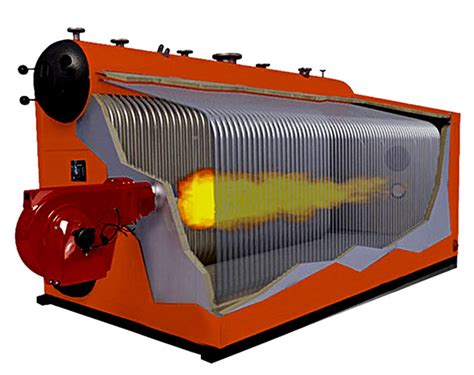 Gas Fired Water Tube Steam Boiler
