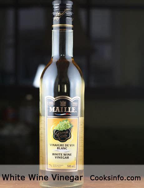 substitute for white wine vinegar white wine vinegar