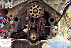 Replace Balance Shaft Chain Tensioner W  O Pulling Motor