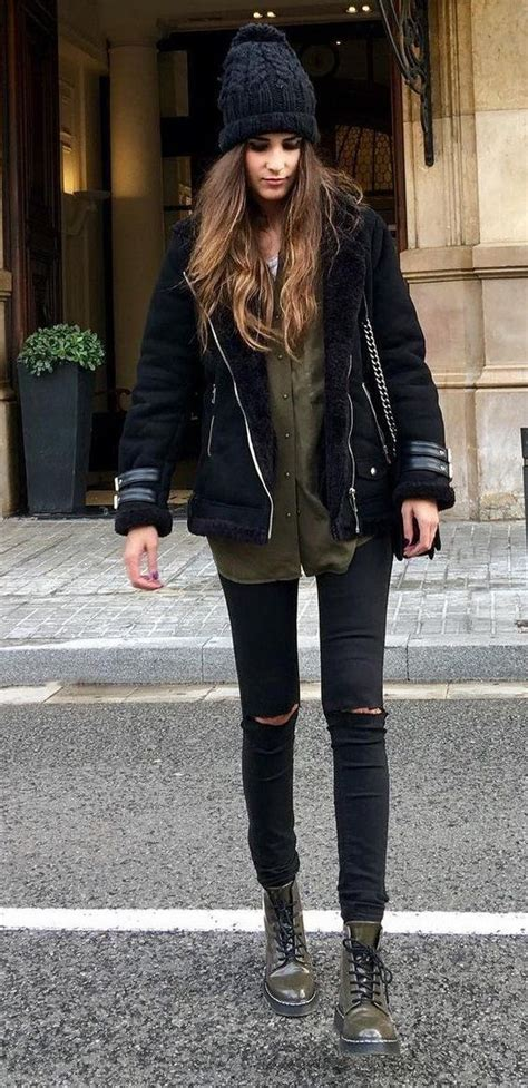 Outfits-color-negro-para-invierno-2017-2018 (10)   Beauty and fashion ideas Fashion Trends ...