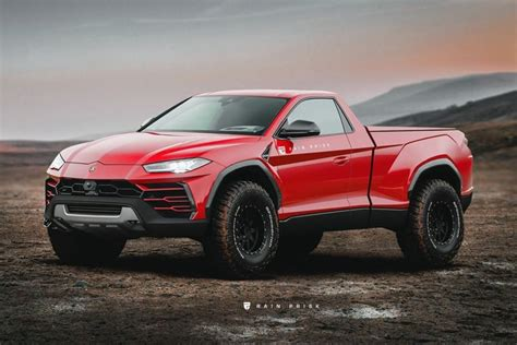 Ford Suv Truck by Lamborghini Urus Up Truck Production Model Rendered