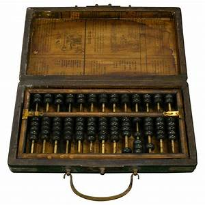 Chinese Abacus with Box