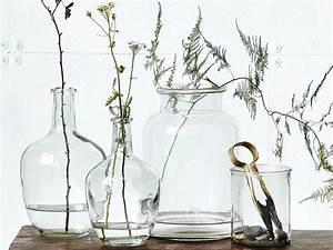 Bouteille Verre Ikea : bouteilles bocaux flacons recycl s en vases pour votre d co ~ Teatrodelosmanantiales.com Idées de Décoration