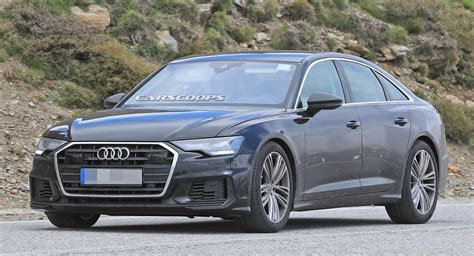 Allnew 2019 Audi S6 Throws Away (most Of) Its Camo