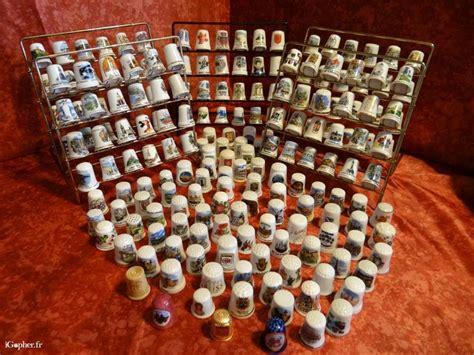 fournitures bureaux dés à coudre de collection en porcelaine igopher fr