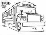Bus Coloring Pages Printable Transportation Sheet Buses Truck Fire Yescoloring Shuttle Space Emergency Police Boys Trucks Vehicles Cars Bestcoloringpagesforkids Service sketch template