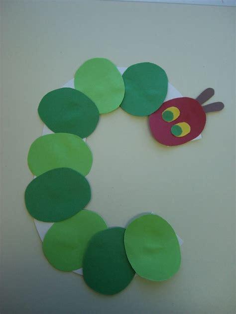 caterpillar preschool alphabet craft alphabet