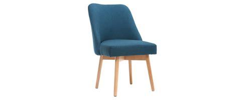 suspension cuisine pas cher chaise scandinave tissu bleu canard pieds bois clair liv