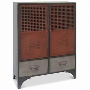 Petite Armoire De Rangement : armoire de rangement metallique topiwall ~ Teatrodelosmanantiales.com Idées de Décoration