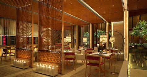 Smart Open Floors Resorts Restaurant Interior Design With