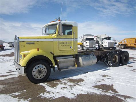 kenworth heavy 1987 kenworth w900b heavy duty cab chassis truck for