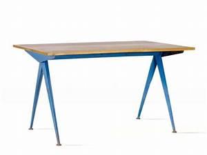 Table Jean Prouvé : galerie alexandre guillemain artefact design jean ~ Melissatoandfro.com Idées de Décoration