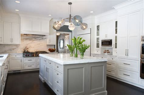 kitchen cabinets island ny westchester ny center colonial transitional kitchen york by benatar