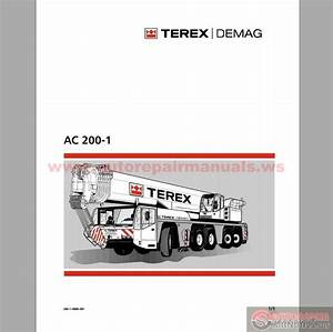 Terex Demag Ac 200-1 Operation And Maintenance Manual