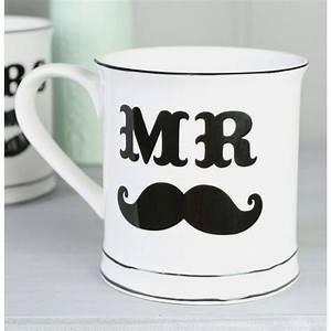 Mug Grande Contenance : mug tasse mr moustache objet original et insolite id es cadeaux ~ Teatrodelosmanantiales.com Idées de Décoration