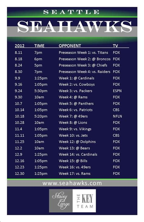 image seahawks  schedule