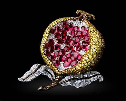 Ruby Fruit Ong Michelle Carnet Pomegranate Gods