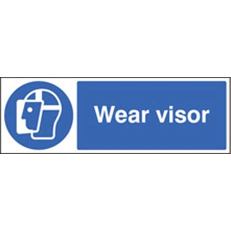 Wear Visor Mandatory Sign  Safety Signs  Pittman Ireland. Tropical Leave Banners. Travel Tourism Banners. Big Toe Signs. Narrow Murals. Black Ops 3 Banners. Useful Signs Of Stroke. November 22 Signs Of Stroke. Manners Signs Of Stroke