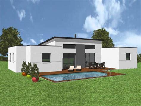 style de maison moderne plain pied plan maison plain pied moderne toit plat maison moderne