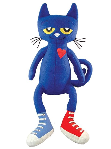 Merry Makers Pete The Cat Plush Doll, 145inch , New