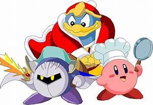 Kirby MetaKnight and King Dede by Batman316 on DeviantArt