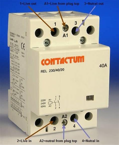 Contactor Elektrik Dersleri Electrical Wiring Wire Grid