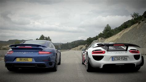 video porsche    turbo  drag race top gear