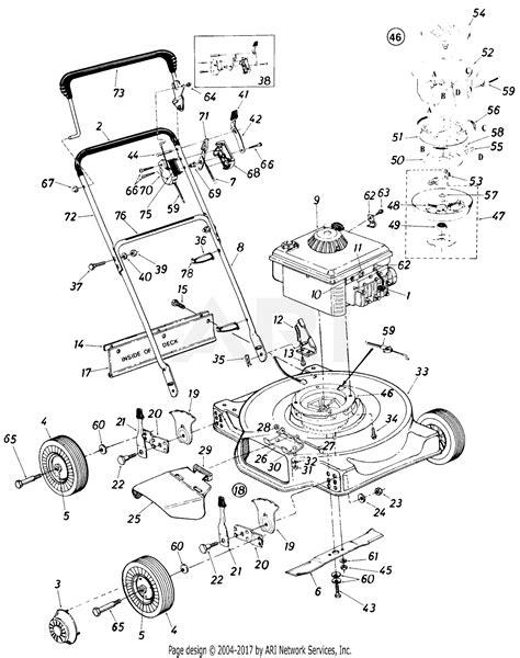 ingersoll mower wiring diagram
