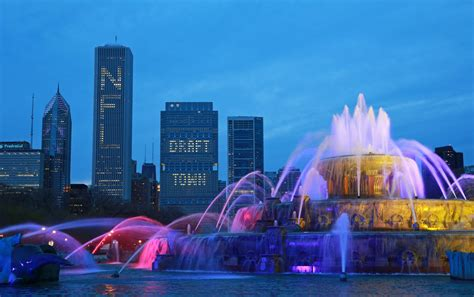 nfl draft cost chicago city services