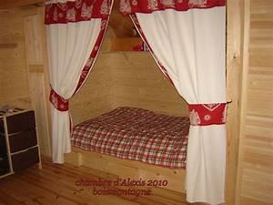 Rideaux Style Chalet : les chambres des enfants bois et montagne ~ Teatrodelosmanantiales.com Idées de Décoration