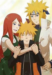 Kushina, Naruto, Minato.