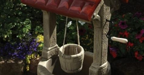 Borderstone Wishing Well Garden Ornament For Sale