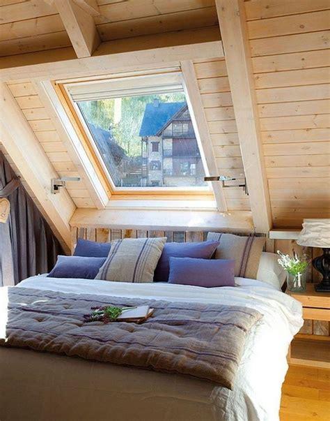 elegant small attic bedroom   home attic