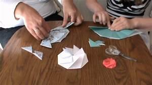 Einfache Papierblume Basteln : origami blumen basteln affordable bastelideen aus papier blumen girlanden und trkrnze with ~ Eleganceandgraceweddings.com Haus und Dekorationen