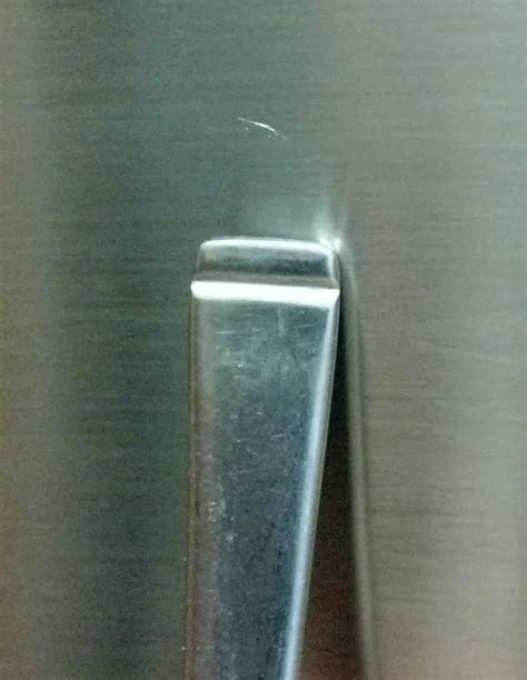 fix lovely   repair shallow scratches  brushed stainless steel