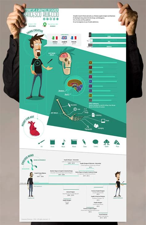 Graphically Appealing Resumes by 10 Best Ideas About Graphically Designed Resumes On