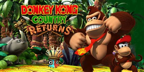 Donkey Kong Country Returns Wii Games Nintendo