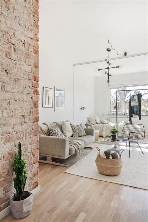 exposed brick walls images  pinterest