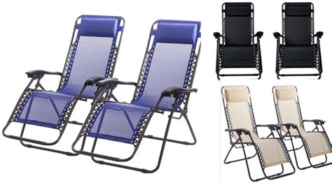 zero gravity chairs zero gravity recliner black 2 pack