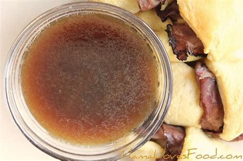 au jus sauce mama loves food easy au jus how to make a simple au jus without pan drippings