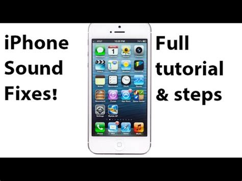 how to audio to iphone how to fix iphone speaker sound problem proven