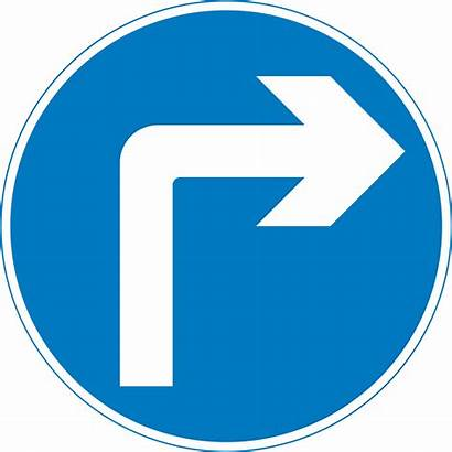 Signs Road Sign Traffic Turn Right Clipart