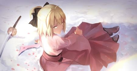 saber fate stay night anime background wallpapers