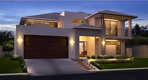 double storey house design design decoration With double story modern house plans
