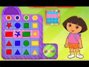 Dora the Explorer Nick Jr Bingo Game