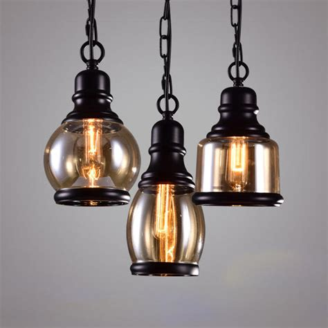 home indoor retro chandelier industrial style bar small