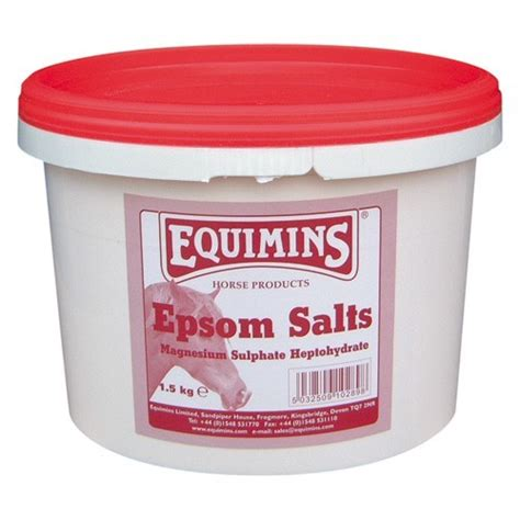 equimins epsom magnesium sulphate salts supplement