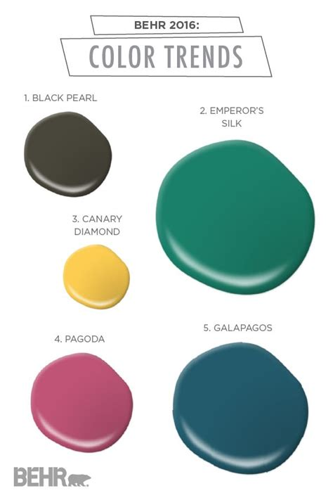1000 images about behr 2016 color trends on
